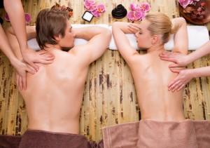 massage en couple à l'institut du couple à Genève